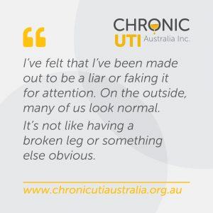 Chronic UTI Australia